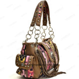 2017の熱い販売のスペインの女性ふさデザイナーハンドバッグ(ZX20356)