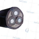 Ходкий алюминиевый силовой кабель проводника обшитый PVC