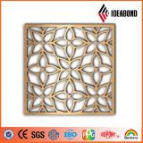¡Nuevo diseño 2016! El panel compuesto de aluminio curvado CNC incombustible de Ideabond