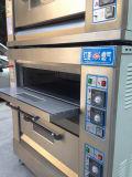 Horno monofásico comercial Double Deck horno de gas en el equipo para hornear