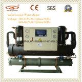 Réfrigérateur refroidi à l'eau de double système avec le compresseur de Danfoss