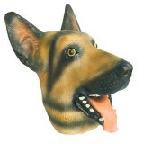 Latex Full Head Realistic House Pet Boxer Dog Fancy Dress herauf Party Carnival Mask