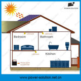 8W 떨어져 격자 지역을%s 4개의 전구를 가진 휴대용 태양 전지판 시스템