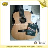 Autoadesivo stampato del documento di contrassegno per la chitarra (JHXY-HT0013)