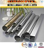 Tube décoratif de pipe d'acier inoxydable d'ASTM A554 202/201