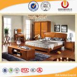 Новая модная кровать мебели спальни 2016 в конструкции китайца с классицистическим типом (UL-B87)