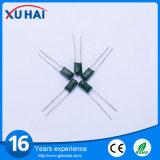 Пленочный конденсатор полиэфира продуктов первой десятка высоковольтный зеленый