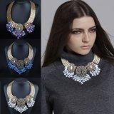 Collar de cadena pendiente cristalino de la joyería de la manera