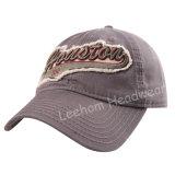 Тяжелая помытая бейсбольная кепка вышивки 3D (LW15002)