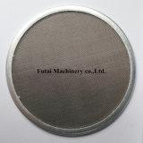 Piatto del filtrante dell'acciaio inossidabile per fibra sintetica