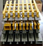 FRP/GRP Pultrudedの格子、I-40125、火格子を付ける32*15*25*10mmガラス繊維の格子