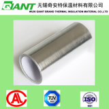 Einzelnes Side Aluminum Film Coated PET Woven Fabric für Building Thermal Insulation