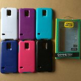 Luxury caliente Symmetry Double Colors Two-Proof Caso para Samsung Galaxy S5