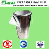Papel de aluminio que lamina la tela tejida/el papel de aluminio laminado de la película del PE y la tela tejida