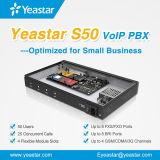 Sistema di linea di accesso al centralino privato di Yeastar S50 VoIP con il modulo facoltativo di 4 GSM per la piccola impresa