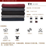 夏の編まれたヤクまたはMerinoのウールの羊毛毛布