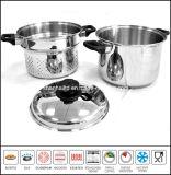 Cookware ajustado do fogão da massa