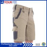 Shorts 100% del lavoro di stile del carico della tela di canapa del cotone per gli uomini (YGK113)