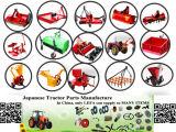 Bêcheur portatif de trou de poteau de petit tracteur hydraulique