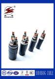O cabo distribuidor de corrente 0.6/1kv XLPE isolou o fio de aço Sheathed da fita/Wire/Al blindado