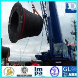 Vaso para atracar la defensa marina de goma de la protección del cono