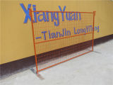 Polvere Coating Temporary Fence Panel con Wire Mesh Made