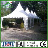 Pubblicità della mostra del Gazebo della tenda foranea del Pagoda che fa pubblicità alla tenda 5X5m