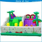 Mini ponticello combinato gonfiabile, cursore combinato gonfiabile, parco di divertimenti