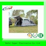Kampierendes Familien-Zelt der wasserdichten Schicht-automatischen im Freien Personen-3-4