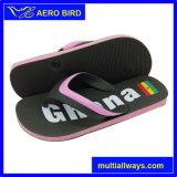 Neues Entwurfs-Strand PET alleinige Hefterzufuhr-Sandelholz-Schuhe für Männer