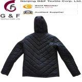 Chaqueta plegable de la seguridad de nylon del calentador 380t del invierno de los hombres