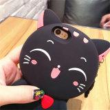 Lazo pendiente que bizquea la caja roja del teléfono móvil del gato de la mejilla (XSDW-074)