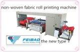 Impresora no tejida de alta velocidad automática de la pantalla del color de la tela una de la marca de fábrica de Feibao para el bolso de compras