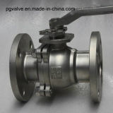 шариковый клапан API фланца 150lb CF8m плавая с ISO9001