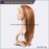 Parrucca fatta a mano dei capelli sintetici all'ingrosso