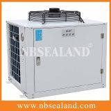 Unidad de condensación refrescada aire encajonado de la baja temperatura