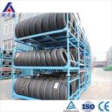 Cremalheira Stackable do armazenamento de pneu do armazém