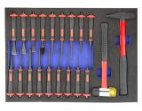 carretilla resistente 608PCS en el embalaje de la espuma de EVA (FY608A)