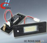 Lumière lumineuse élevée de plaque minéralogique du véhicule DEL d'E81 E87 3528 pour la BMW