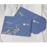 2016 호화로운 Gold Stamping Promotional Printing Envelopes 또는 Stationery