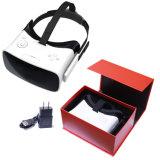 Jugador móvil de Vr del receptor de cabeza de la realidad virtual 3D del OEM Vr para el vídeo de 1080P 3D