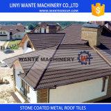Tipo romano mattonelle di tetto, mattonelle di tetto rivestite di pietra del metallo, tetto del metallo, mattonelle di tetto di alluminio