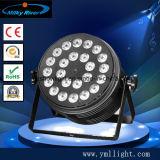 La PARITÀ impermeabile degli indicatori luminosi 24PCS 6in1 LED della festa nuziale può