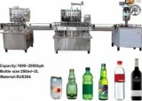 Bebidas carbonatadas de llenado y sellado de la máquina para Cap Corona y la botella de cristal