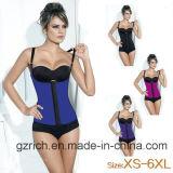 Gilet sexy de Shaper de corps de formation de taille de Shaper de corset de formation de taille de latex de femmes