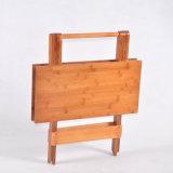 簡単なタケ折りたたみ式テーブルの家具の正方形表の携帯用ダイニングテーブル
