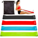 Bandes-Set de Resistance Loop d'exercice de 4 Home Fitness Bands pour Legs