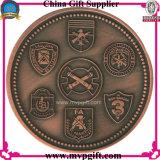 Pièce de monnaie en métal pour le cadeau religieux de pièce de monnaie
