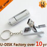 Qualitäts-rotierendes Metall-USB-Blinken-Laufwerk (YT-1251)