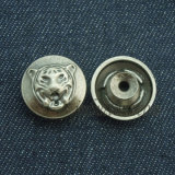 タイプ豪華な銀色の方法リベットはボタンを除去する